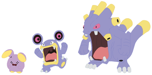 Whismur, Loudred and Exploud Base