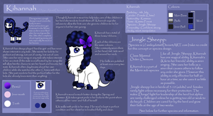 Kihannah Official Reference Sheet by Nai-Alei