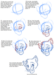 How to Draw Felines: Head by JustAutumn