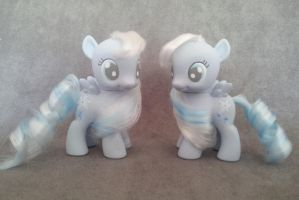 MLP: FiM - filly Snowdrop - customs by hannaliten