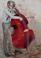 Contrabass by tomohide0108