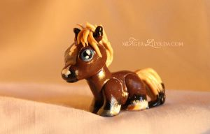 Fimo commission - Sanchay by JulieBales