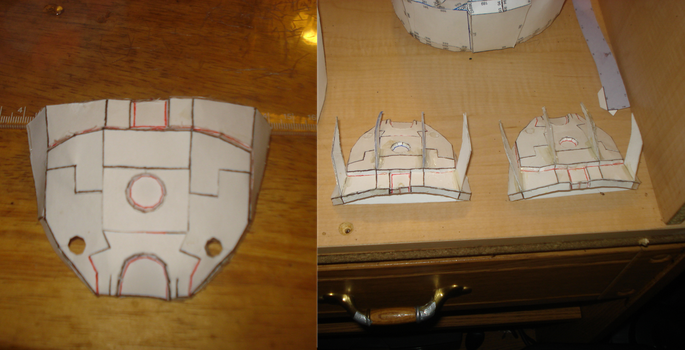 Halo armor: handplate before an after by DarkFoxProjectX