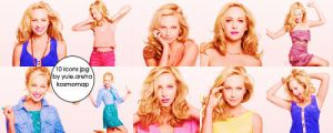 10 icons from jpg Candice Accola by Kosmomap