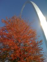 Fall Sunshine on the Arch by britgeek