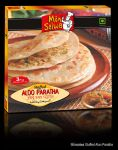 Stuffed Aloo Paratha by b4umedia