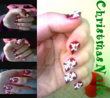 Christmas nails by SuzuSuzuki
