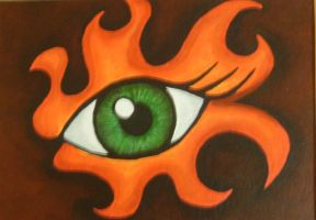 Eyes of the Elements: Fire by TheEvilNae