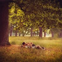 If I Lay Here.. by Khomenko
