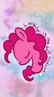 Pinkiepie iphone 5 wallpaper by SuzyQ2pie