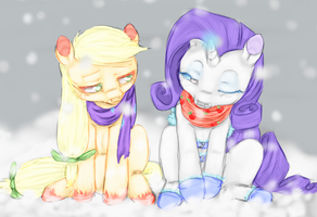The temperature drops by colorlesscupcake