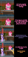 Pinkie Pie Says Goodnight - Flashlight Shipwreck by Undead-Niklos