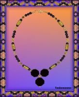 NECKLACE 'FOR THE QUEEN OF SHEBA' by Voodoomamma