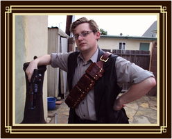 Steampunk Bandolier by Isinglass-Industries