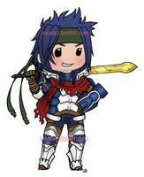 Chibi Priam by roseannepage