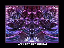 happy birthday Andreas by fraterchaos
