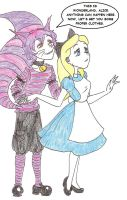 Chesh and Alice by The-OxyG