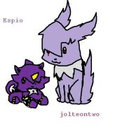 me and espio ID by jolteontwo