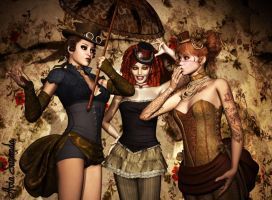 Victorian girLs by Avia-Sunanda