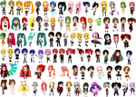 [MMD] My RUMMY model collection +DL Links by Ashley-andRed