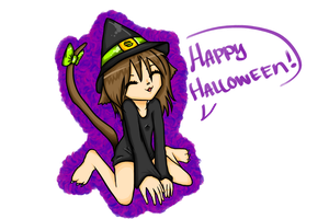 Happy Halloween by UndeadNekoCat