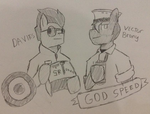 God Speed you two by nukefox1