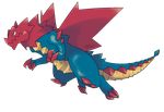 Mega Evolution: Druddigon by Kydeka