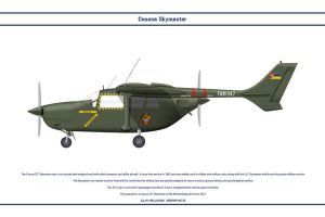 Cessna 337 Mozambique by WS-Clave