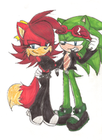 Scourge and Fiona by Ruby-Red-Panther