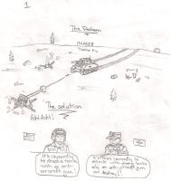 Company of Heroes Comic pt 1 by DeSynchronizer