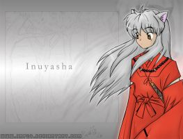 Inuyasha -colored- by imp24