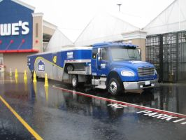 Jimmie Johnson Display hauler by TaionaFan369