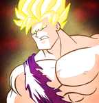SSJ Goku by AngelCrusher