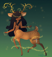 Draw this Again.. Forest Spirit by WaterGleam