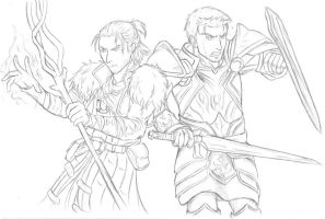 DA - Anders and Alistair by Noted451