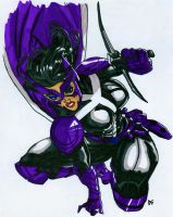 Huntress New 52 Done by skydemonx7