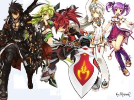 Elsword Team by MiisiaQ