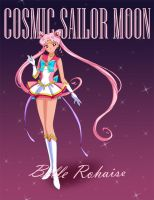Cosmic Sailor Moon by BelleRohaise