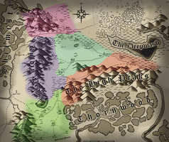 Map of Erlkazar - DnD 4th Edition by Shooter--Andy