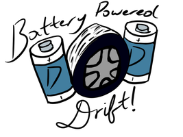 Battery Powered Drift! - Logo by Sylverstone14
