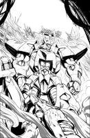 Transformers Ongoing 20 cover by GuidoGuidi