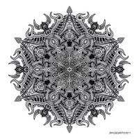 Mandala drawing 3 by Mandala-Jim