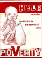 Poverty Poster by latest-disaster