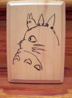 Totoro +SOLD+ by EmmersDrawberry