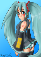 Miku Hatsune by happysmily