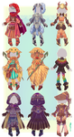:Comm: Outfits for Oscorix by MMtheMayo