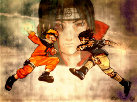 Naruto: Vengeance by inkscripter