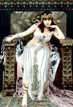 Theda Bara as Cleopatra 1917 by BooBooGBs