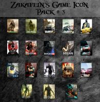 Zakafein's Game Icon Pack 3 by Zakafein