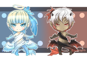 Angel and Devil Adopt ((CLOSED)) by Rikadopts